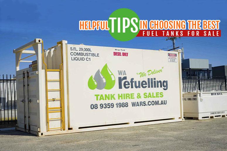 Fuel Tanks for Sale