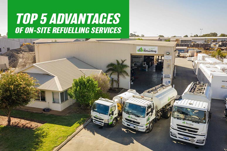 5 Advantages of On-site Refuelling Services