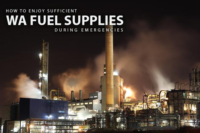 WA fuel supplies