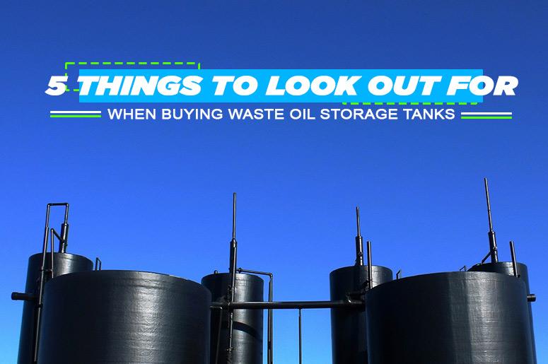 Waste Oil Storage Tanks Australia